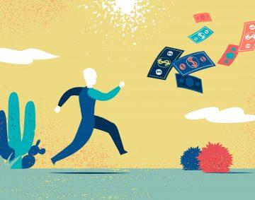 Inseguire un miraggio economico